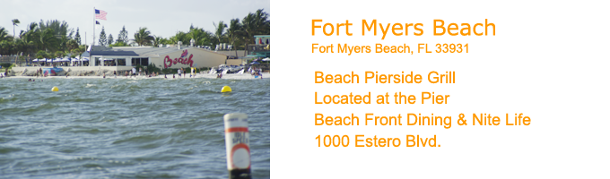 Fort Myers Beach Restaurants - Beach Pierside Grill