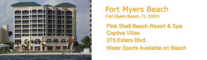 Fort Myers Beach Reorts Captiva Villas