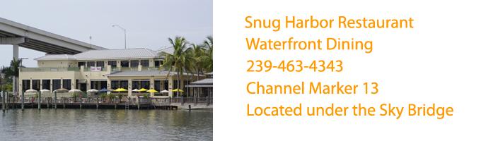 Snug Harbor Restaurant Fort Myers Beach