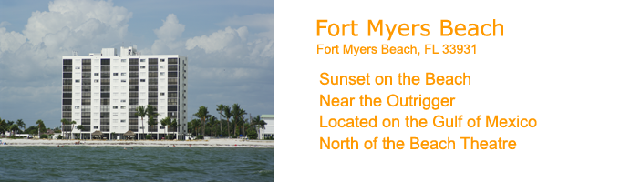 The Beaches Of Fort Myers Beach On Gulf Coast In South Florida
